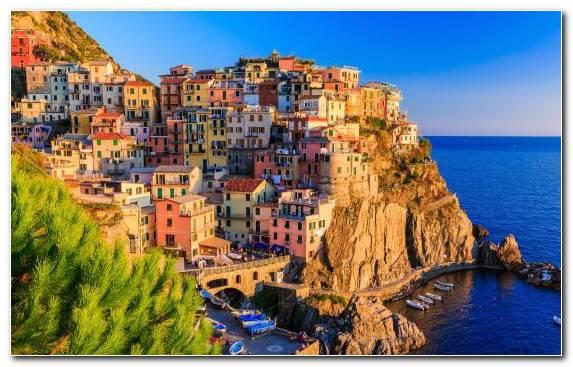 Image Tourism Coast Hotel Riomaggiore Historic Site