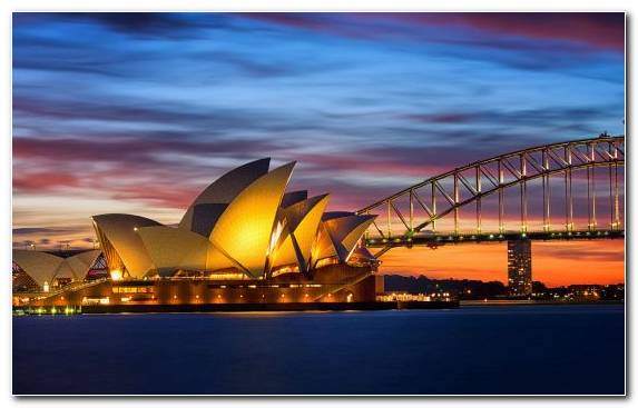 Image Tourism Sydney Opera House Cityscape Tourist Attraction Water