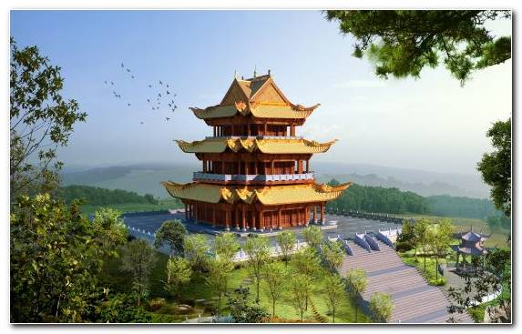 Image Tourism Temple Pagoda Chinese Architecture Tourist Attraction