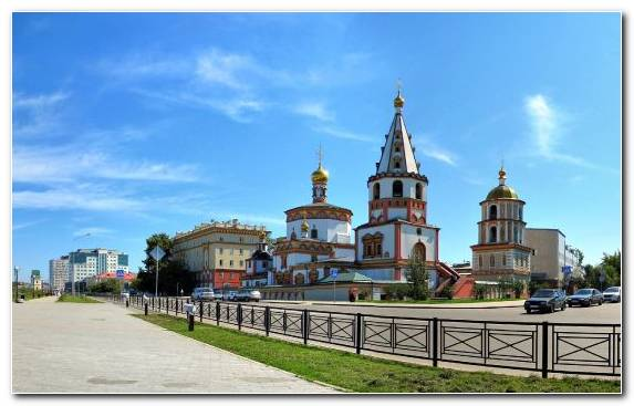 Image Tourist Attraction Lake Baikal Historic Site Landmark Town Square