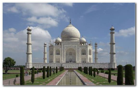 Image Tourist Attraction Sky Taj Mahal Monument Wonders Of The World