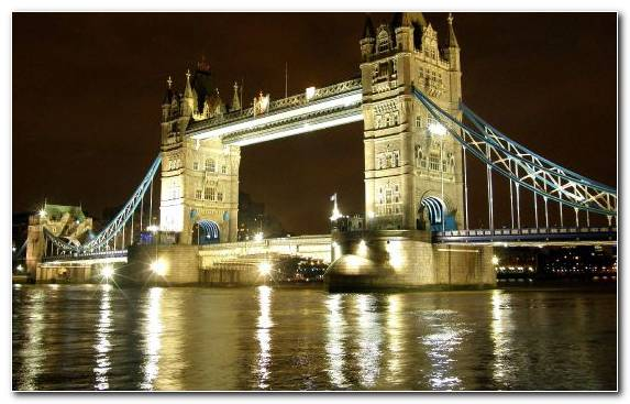 Image tourist attraction tower of london tower bridge reflection metropolis