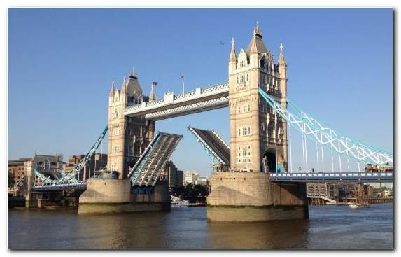 Image Tower Bridge Cable Stayed Bridge Tourist Attraction London Bridge Bridge