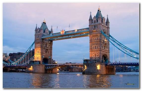 Image Tower Bridge Landmark Tower Tower Of London City