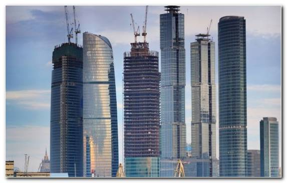Image tower daytime Commercial building condominium moscow