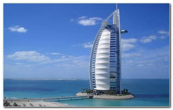 Image Tower Ocean Jumeirah Burj Khalifa Artificial Island