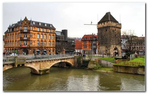 Image Town Medieval Architecture Waterway Watercourse Tourist Attraction