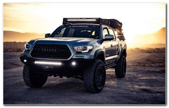 Image Toyota Bumper Pickup Truck Transport Automotive Tire