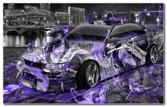 Image Toyota Chaser Purple Nissan Silvia S15 Compact Car City Car