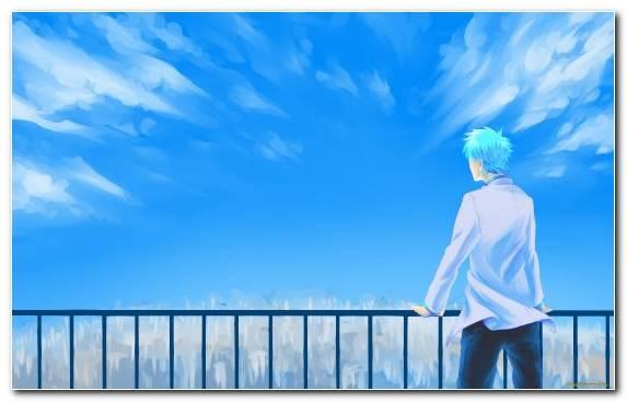 Image Tranquillity Cloud Blue Day Tetsuya Kuroko
