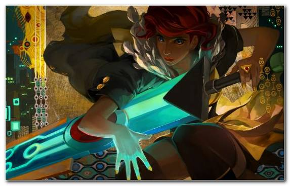 Image Transistor Illustration Supergiant Games Playstation 4 Bastion