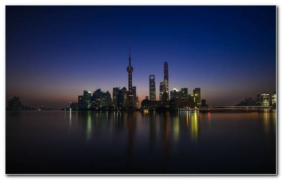 Image travel capital city metropolis skyline horizon