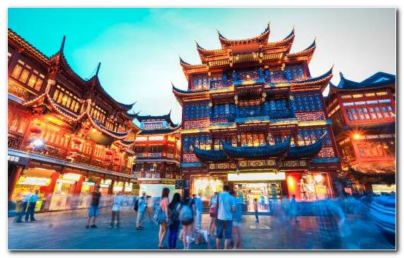 Image Travel Landmark Temple Shanghai Tourist Attraction