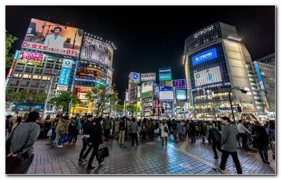 Image travel night cityscape pedestrian urban area