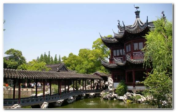 Image Tree Garden Factory Chinese Garden Japanese Architecture