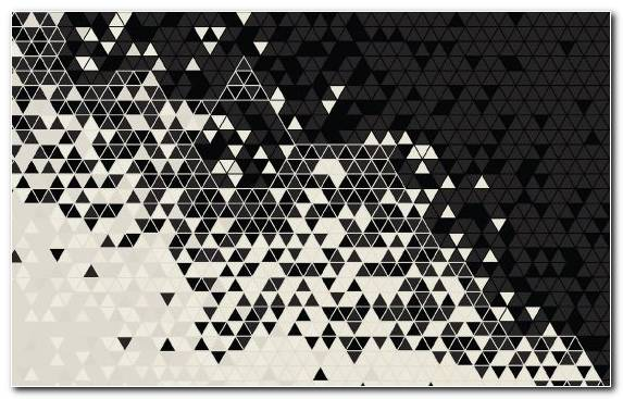 Image Triangle Pattern Monochrome Shape Design