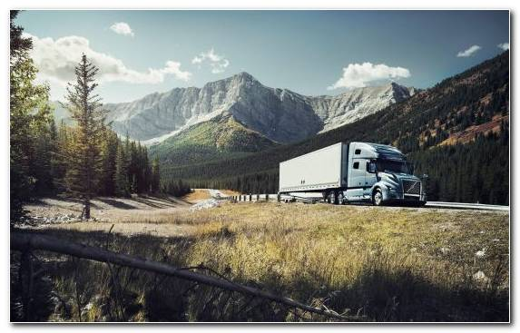 Image Truck Wilderness Volvo Trucks Mountain Pass Ab Volvo