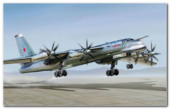 Image Turboprop Air Force Tupolev Tupolev Tu 95 Military Aircraft