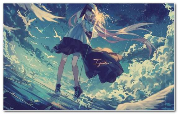 Image Underwater Sky Marine Biology Water Anime