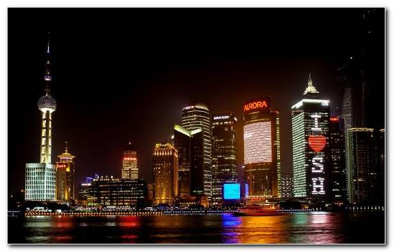Image urban area Oriental Pearl Tower metropolis travel capital city