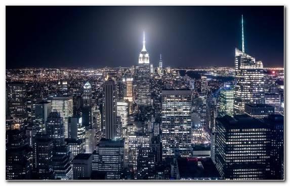 Image urban area capital city metropolis night horizon