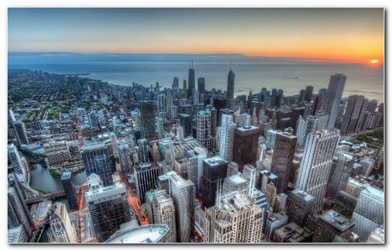Image Urban Area Chicago Cityscape Capital City Daytime