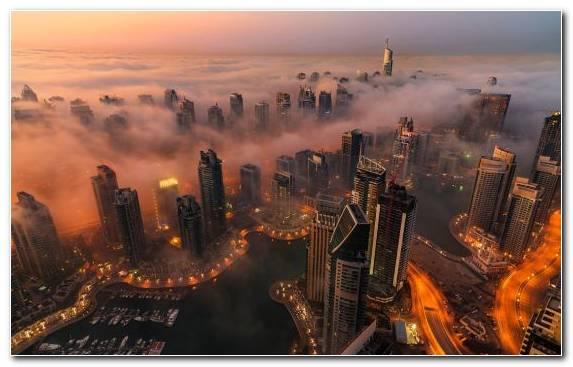 Image urban area cityscape burj khalifa atmosphere horizon