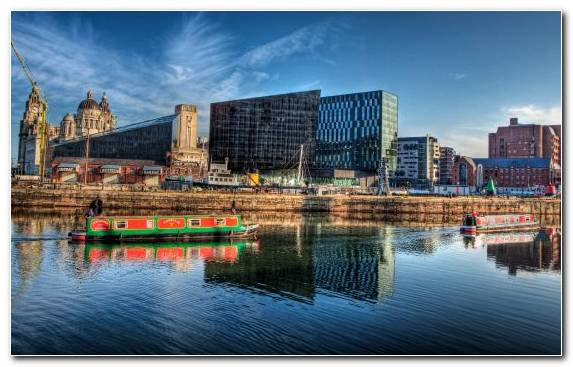 Image urban area cityscape water reflection horizon