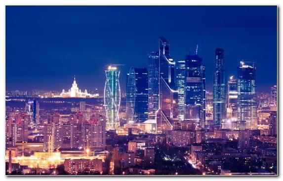 Image Urban Area Landmark Metropolis Cityscape Moscow