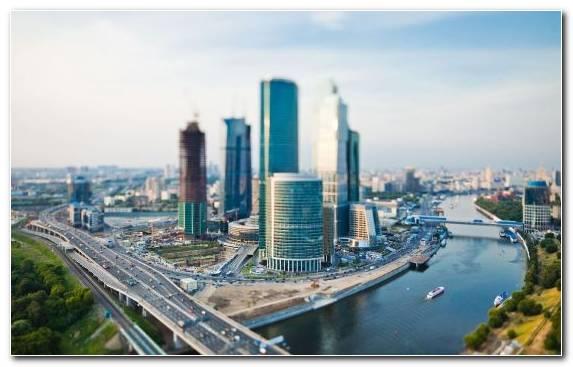 Image urban area metropolis Moskva River day skyscraper