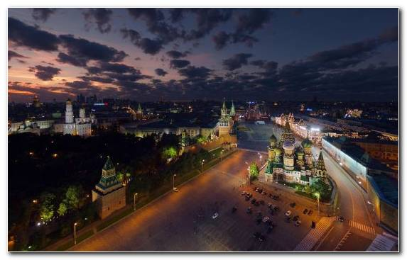 Image Urban Area Town Moscow Kremlin City Metropolis