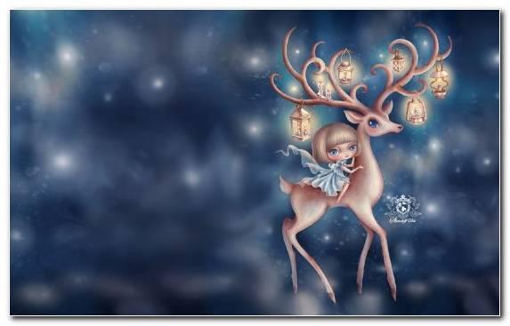 Image Vertebrate Creative Arts Reindeer Christmas Day Christmas