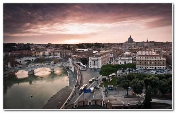 Image Via Della Conciliazione City Sky Museum Evening