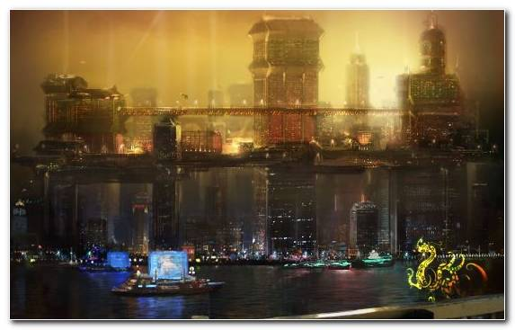 Image Video Games City Cityscape Deus Ex Night