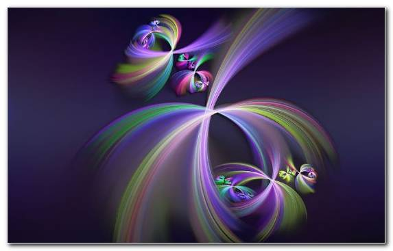 Image violet macro photography special effects purple fractal art