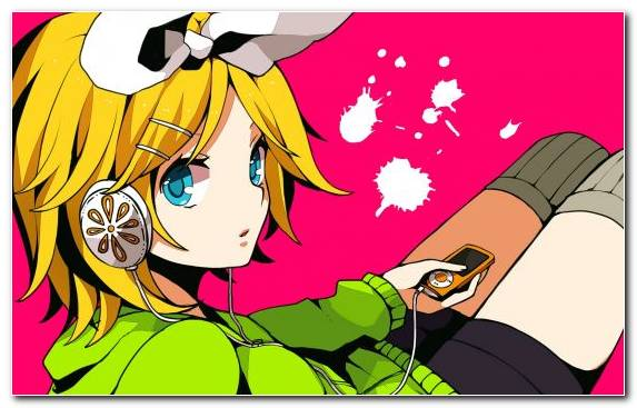 Image vocaloid fiction hatsune miku illustration yellow