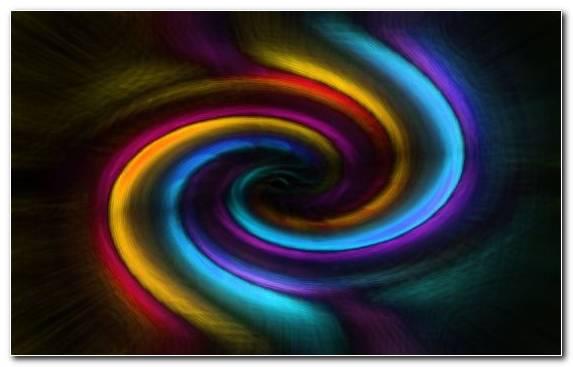 Image vortex color rainbow tornado close up fractal art