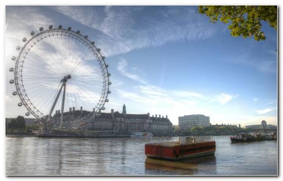 Image water resources sky london eye river ferris wheel