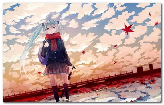 Image watercolor paint red girl manga pink