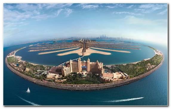 Image waterway artificial island resort sea coastal and oceanic landforms