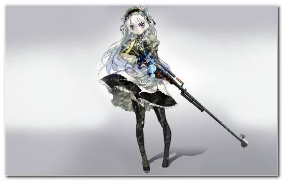 Image Weapon Sniper Gun Cannon Anime