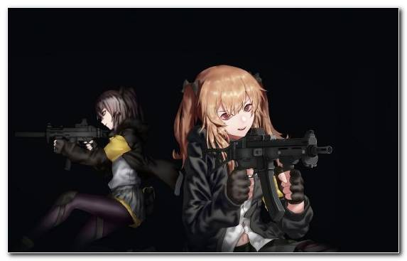 Image Weapon Soldier Anime Darkness Air Gun