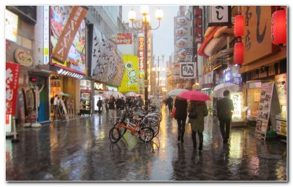 Image Wet Season Season Bazaar Pedestrian Summer