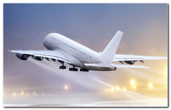 Image Wide Body Aircraft Airplane Airliner Aerospace Engineering Takeoff