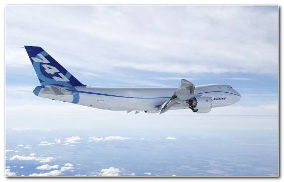 Image Wide Body Aircraft Boeing 747 Airline Air Travel Airbus