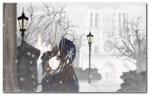 Image Winter Asuna Blizzard Tree Freezing