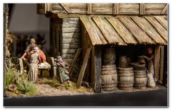 Image Wood Christmas Christmas Day Nativity Scene