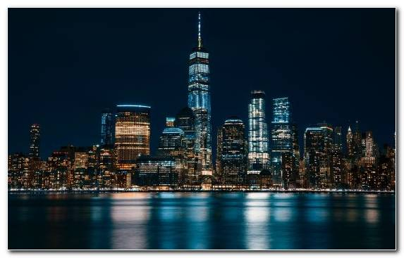 Image World Trade Center Cityscape City Landmark Reflection