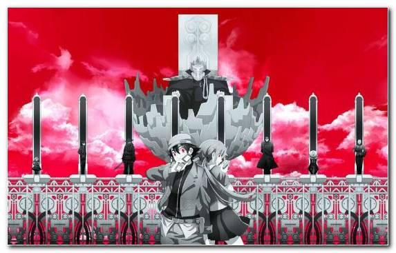 Image yandere red art character mirai