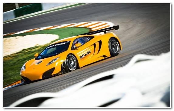 Image yellow McLaren F1 GTR sports car supercar car